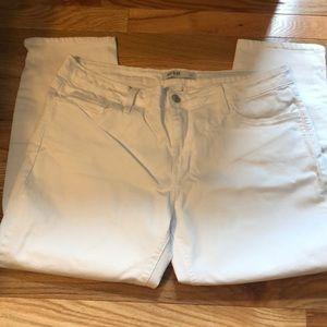 NWOT Just Black White Skinny Jean